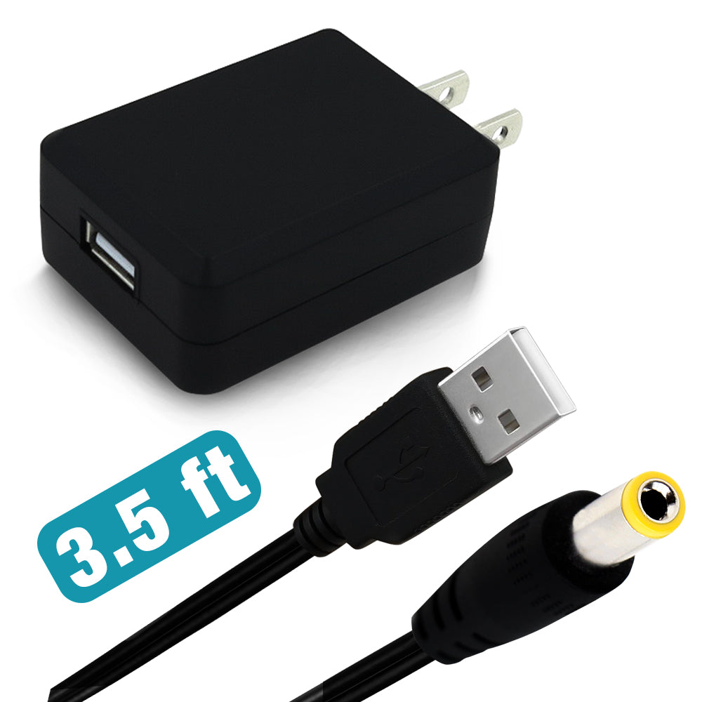 3.5 FT USB CABLE + USB ADAPTER