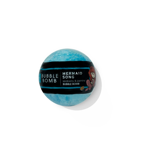 <h3>Mermaid Song</h3> Bubble Bath Bomb
