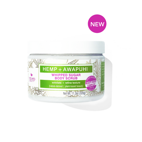 Hemp and Awapuhi Body Scrub
