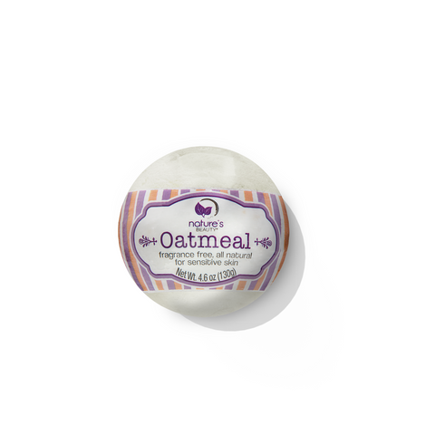 <h3>Oatmeal</h3> Fragrance Free Bath Bomb