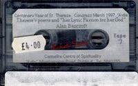 THERESE'S POEMS: Tape 7