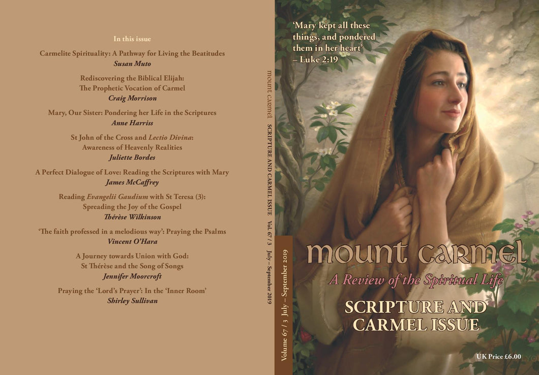 Mount Carmel - Vol 67/3 : Scripture and Carmel (Latest Issue)