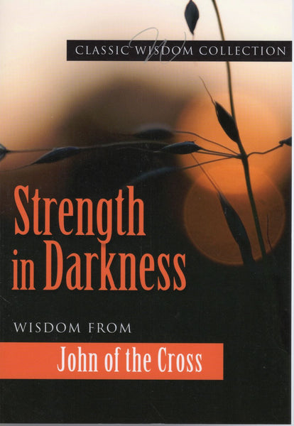 STRENGTH IN DARKNESS: Wisdom from St. John of the Cross.