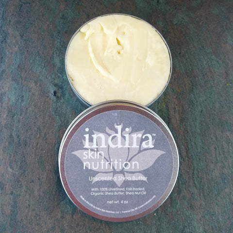 Pure Unscented Shea Butter, 4 oz.