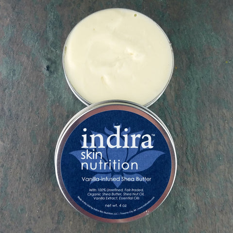 Pure Vanilla-Infused Shea, 4 oz.