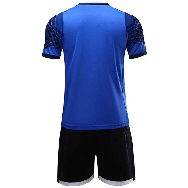 Kids Soccer Uniforms | Color Shirts - Black Shorts