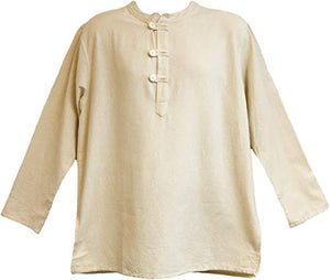 Kurta Cream Mens Tunic Shirt Yak & Yeti
