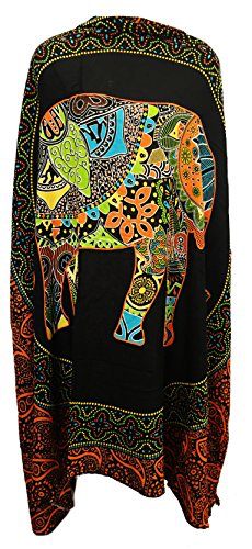 Sarong Wrap From Bali - Elephants Designs