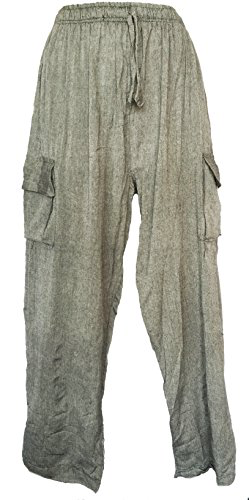 Siddartha Mens Yoga Pants with Cargo Pockets