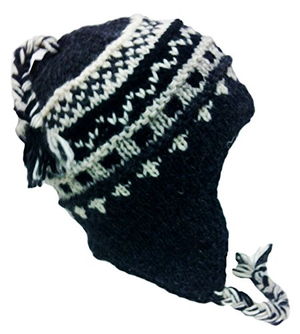 Sherpa Hat with Ear Flaps