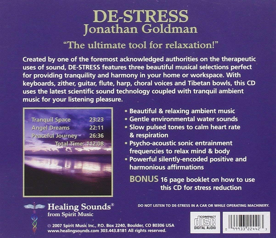 De-Stress CD cover