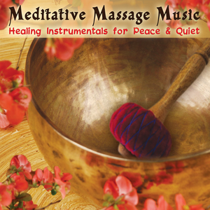 Meditative Massage Music CD cover