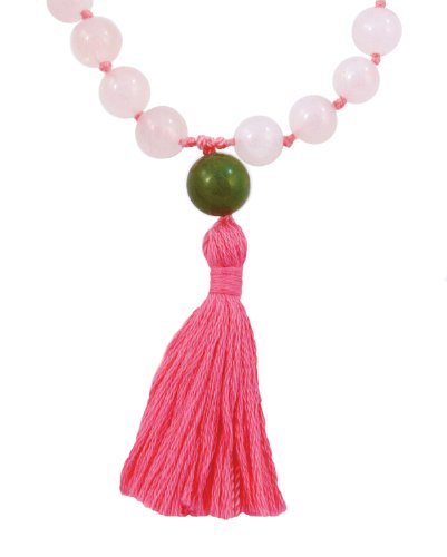 Rose Quartz Hand Knotted Mala - 108 Beads