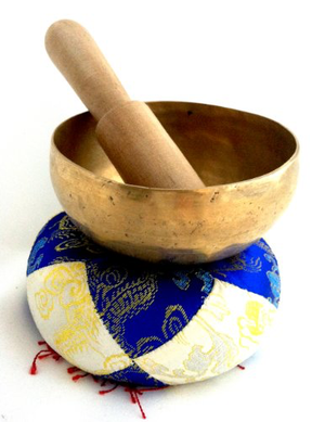 Tibetan Singing Bowl Hand Hammered with Pad & Striker
