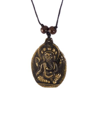 Ganesh Pendant with Adjustable Cord