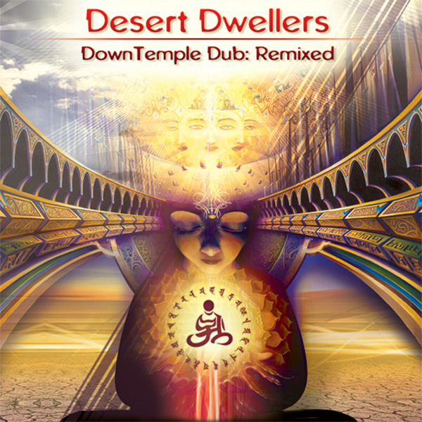 Downtemple Dub: Remixed CD cover