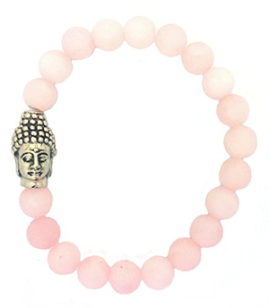 Buddha Head & Healing Crystal Stretch Bracelets