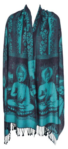 Buddha Meditation Prayer Shawl & Yoga Wrap