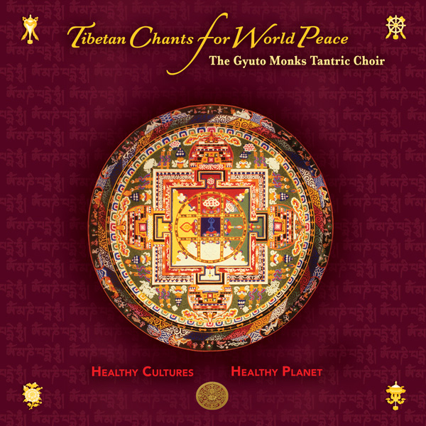 Tibetan Chants For World Peace CD cover