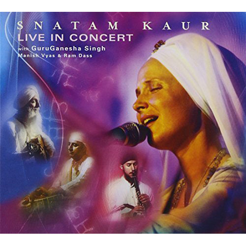 Live in Concert CD cover