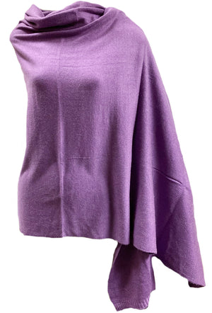 "Prayer Shawl - Wrap for Meditation Cashmere Large size 40"" x 90"""
