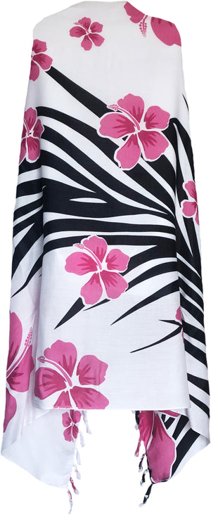 Sarong Wrap From Bali - Flowers