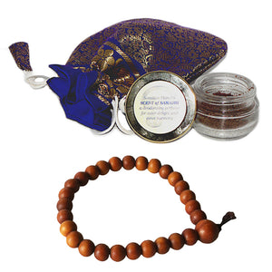 Scent of Samadhi with Scented Wrist Mala