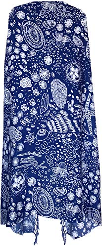Sarong Wrap From Bali - Animal & Sea Creatures Designs