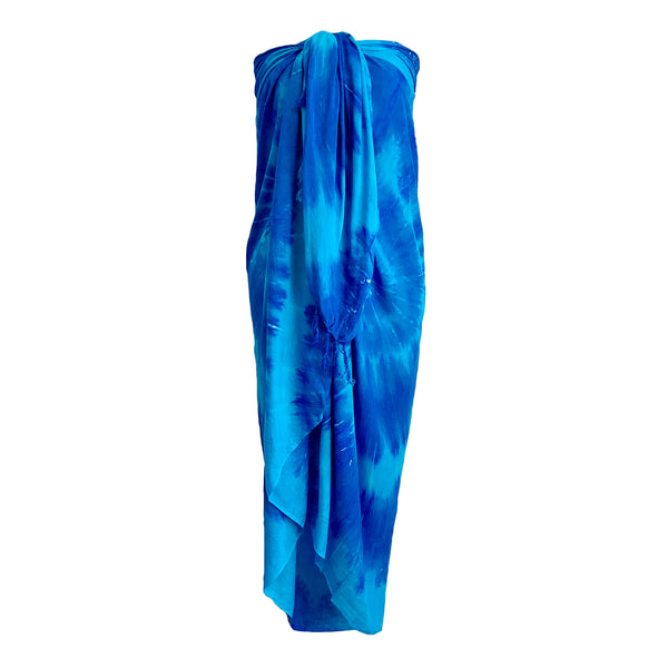 Sarong Wrap From Bali - Tie Dye Designs