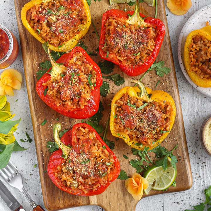Taco Stuffed Peppers