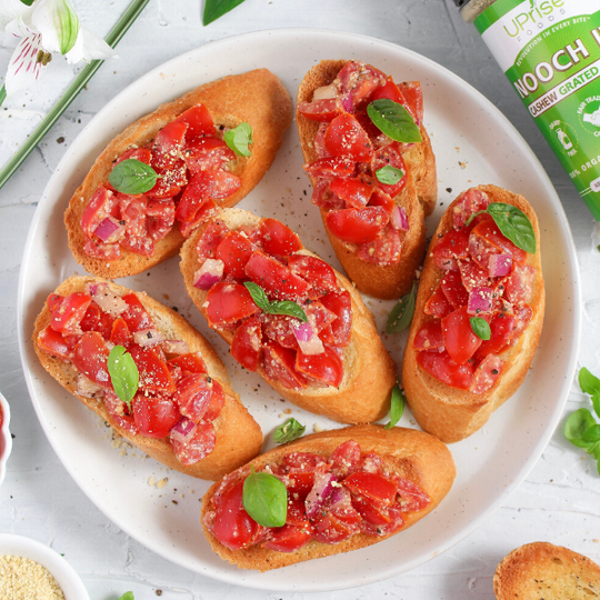 Cherry Tomato Bruschetta