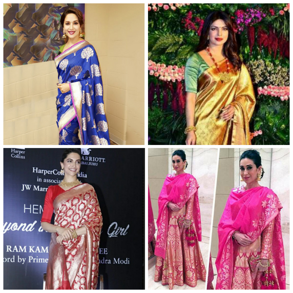 Bollywood Divas in Banarasi