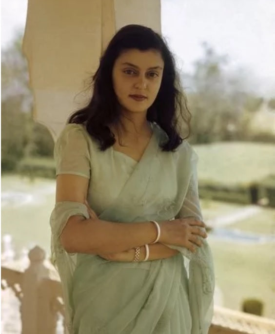 Khinkhwab salutes Maharani Gayatri Devi and love for handlooms!