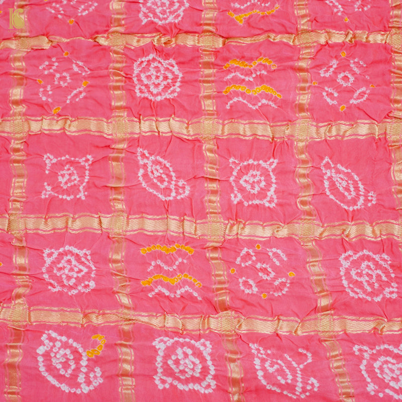 Yellow Pure Moonga Silk Handloom Banarasi Dupatta - Khinkhwab
