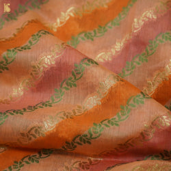 Hand Embroidered Chikankari Lavendar Pure Georgette Fabric Set - Khinkhwab