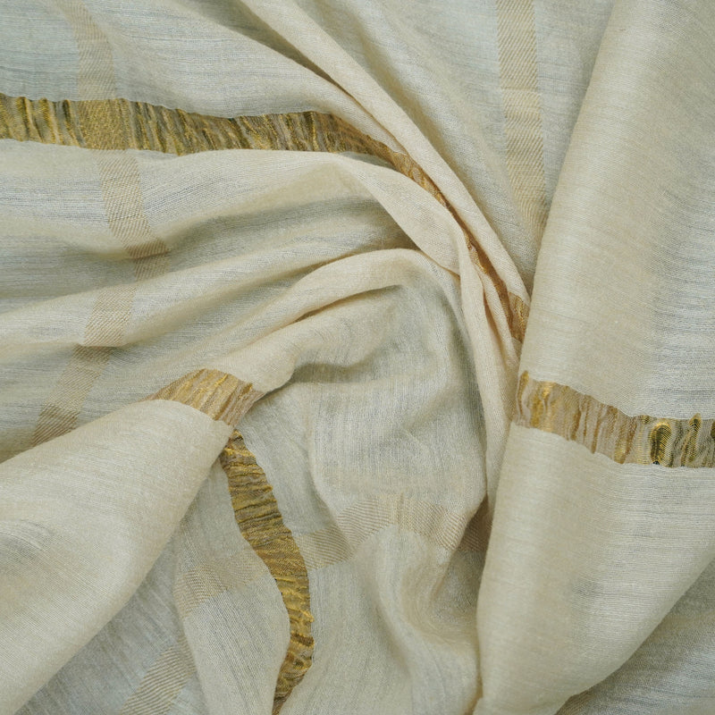 Moonga Silk Handloom Banarasi Fabric - Khinkhwab