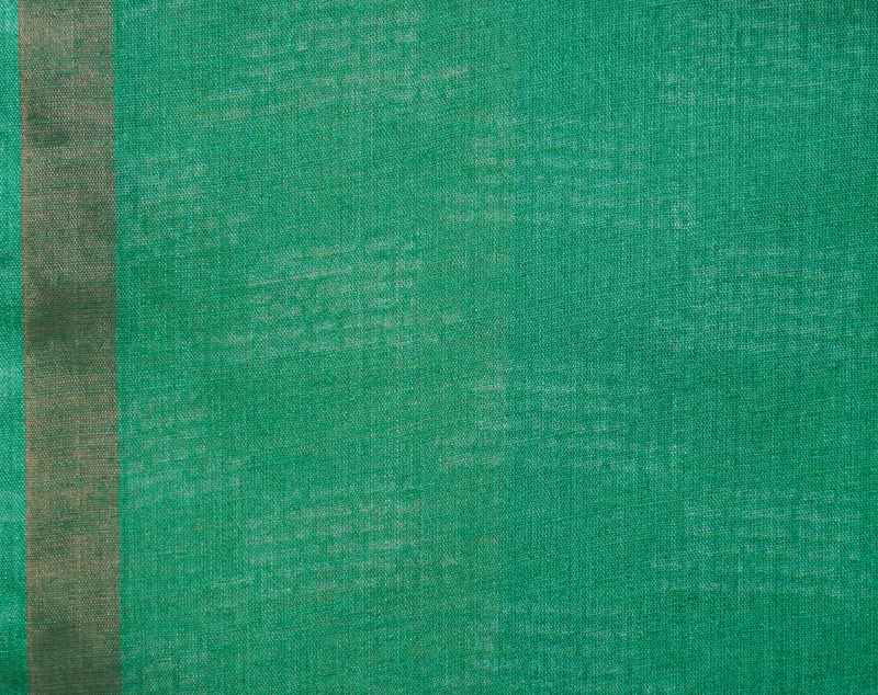 Green Pure Moonga Tussar Silk Shloka Print Saree - Khinkhwab