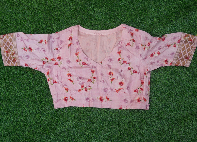 Blouse Stitching Simple With Pads - Khinkhwab