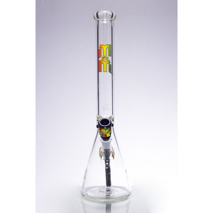 Waterpipe Fortress Beaker by M&M Tech - M&M Tech Glass