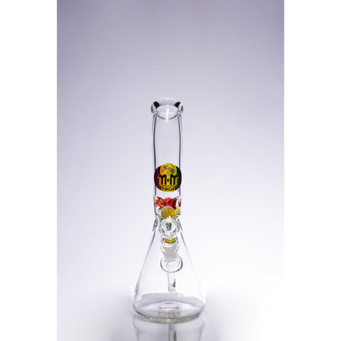 Image of Waterpipe Lazy Beaker with Ice Pinch by M&M Tech - M&M Tech Glass