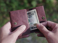 Kamino Wrap Wallet: Slim, minimalist, eco-friendly vegan wallets help you live simply.