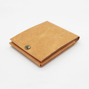 Kamino slim bifold wallet in tan