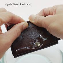 Load image into Gallery viewer, Kamino card wallet is highly water-resistant and machine washable.