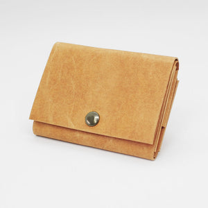 Kamino wrap wallet in tan