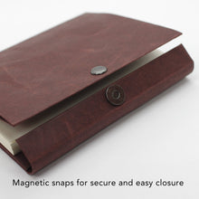 Load image into Gallery viewer, Notebook Cover A6 Magnetic Closure