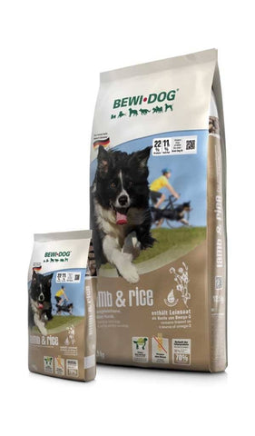 BEWI DOG® LAMB & RICE Dry Dog Food Bewital
