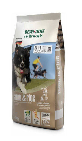 BEWI DOG® LAMB & RICE Dry Dog Food Bewital 800g