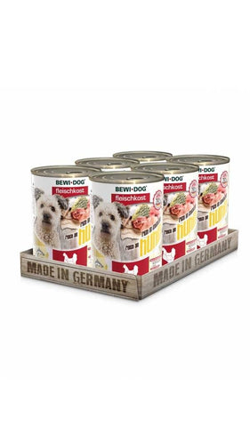 BEWI DOG® MEAT FOOD RICH IN CHICKEN Wet Dog Food Bewital