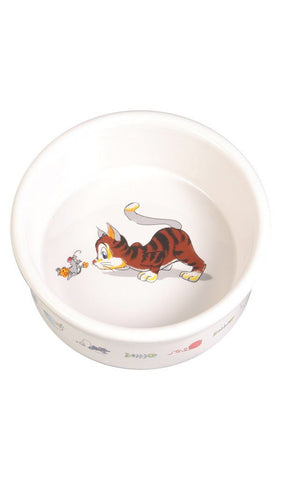 Ceramic Bowl Cat Accessories Trixie