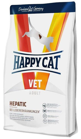 Happy Cat VET Diet Hepatic nutritional support for liver disease 1.4Kg Dry Cat Food Happy Pet